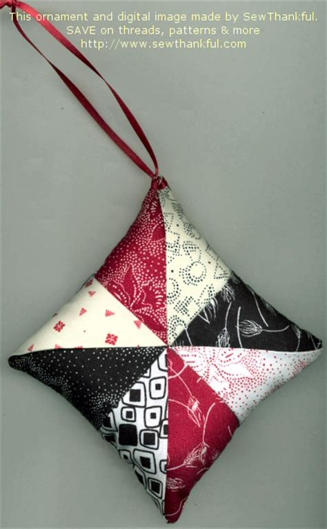 sew thankful blog 187 free christmas ornament pattern