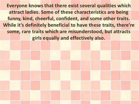 What Do Find Attractive What Do Find Attractive In