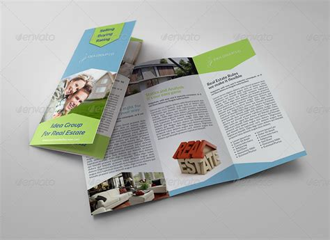 Real Estate Tri Fold Brochure Template real estate tri fold brochure template by owpictures graphicriver
