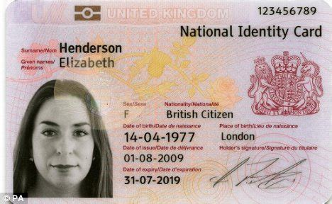 Russian Id Card Template by Labour S Id Card Scheme To Be Scrapped Coalition S