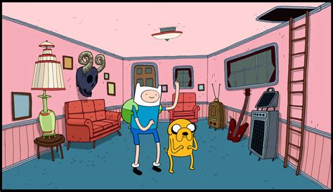 Finn And Jake S Living Room Image Bg Marceline Slivingroom Png Adventure Time Wiki