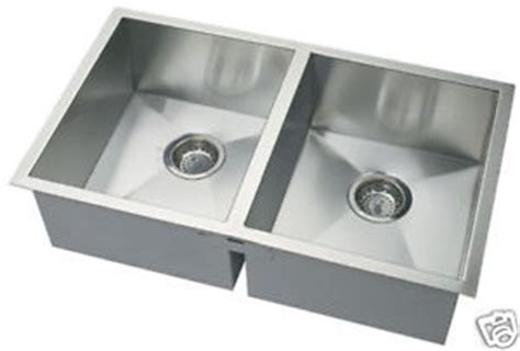 10 quot bowl square undermount stainless steel