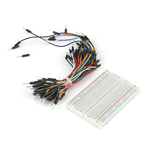 prototype board electronic deck pcs jumper cable wire