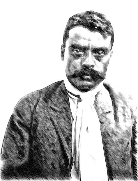 """Emiliano Zapata, """"É melhor morrer de pé do que viver de"""