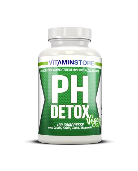 Detoxing Acidity In by Vitaminstore Vitaminstore Ph Detox 100 Compresse