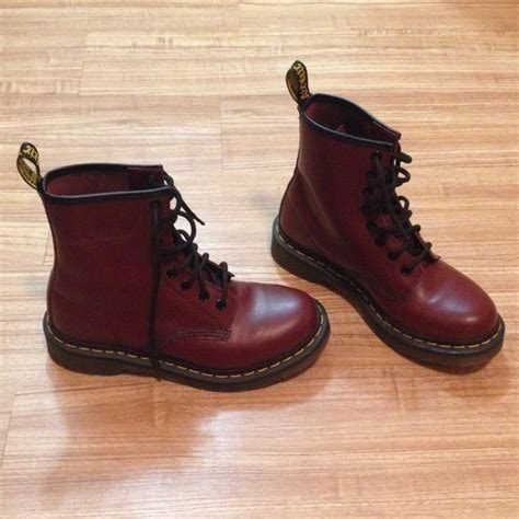 dr martens maroon dr martens boots from koko s closet