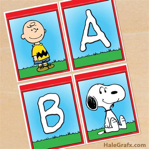 free printable baseball alphabet banner pack free printable peanuts alphabet banner pack