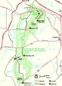 kennesaw map kennesaw mountain national battlefield park official map