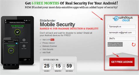 Bitdefender Mobile Security Giveaway - giveaway bản quyền 6 th 225 ng bitdefender mobile security antivirus c