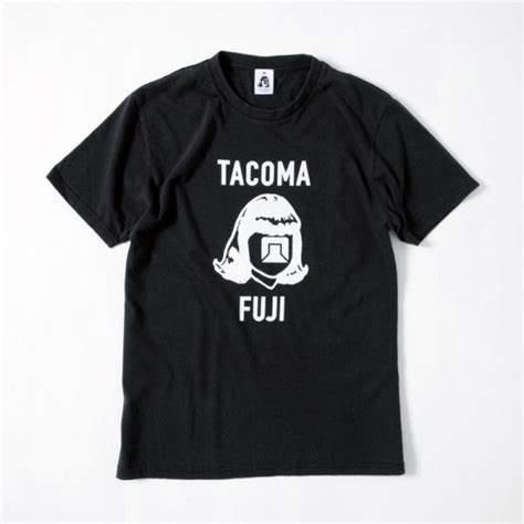Tacoma Records 楽天市場 Tacoma Fuji Records Tacoma Fuji Logo 17 Designed By Jerry Ukai