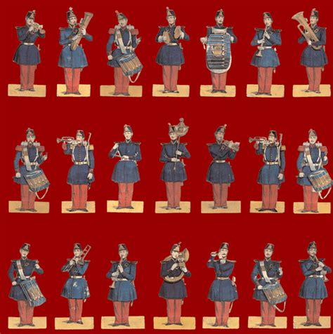 How To Make Paper Soldiers - antiquetoys