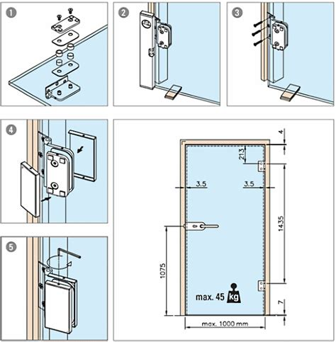 glass door working at wooster l e wall mounted hinge for glass door kerolhardware co uk