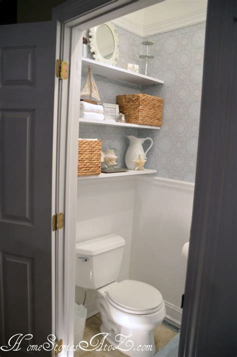 shelf ideas for bathroom our diy bathroom creative storage solutions aol real