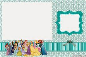 all disney princess free printable invitations is it for is it free is it