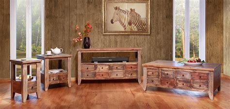 ifd furniture  antique multi drawer rustic coffee table set  multi color dallas