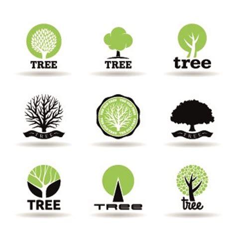 Eco Logos Creative Design Vector 05 Free Download Creative Eco Green Tree Logo Vector Free