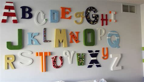 wooden letters for rooms how to decorate the walls with wood and metal letters