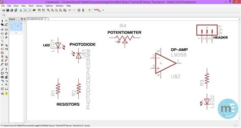 eagle cad tutorial part 1 schematic design youtube eagle schematic tutorial video pcb design using eagle