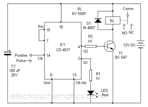 Ic Lm2673 toggle switch circuit circuit diagram world