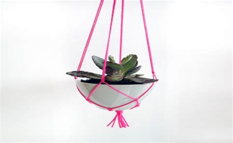Diy Rope Hanging Planter - 15 lovely diy hanging planters diy home things