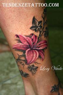 tatuaggi fiori tropicali quot il tatuaggio botanico quot il giglio blossom zine