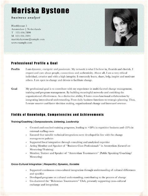 Modelo De Curriculum Holandes C 243 Mo Escribir Un Curriculum Acorde Al Estilo Holand 233 S Authentic Living