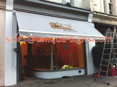 shop awnings london signs and awnings shop signs awnings restaurant awnings london hertfordshire