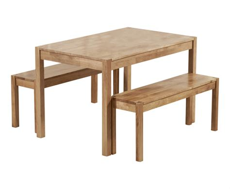 solid oak dining table and benches oxford 120cm solid oak dining table with benches the
