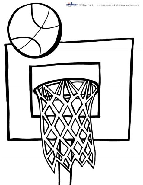 free coloring pages of basket us logo