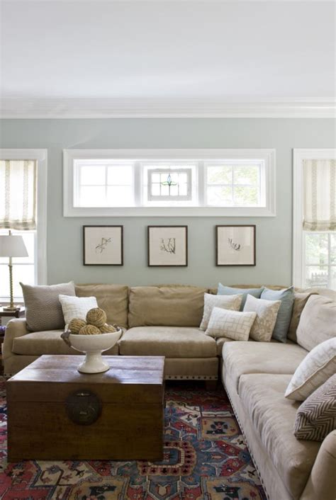 Living Room Wall Color | 25 best ideas about benjamin moore tranquility on