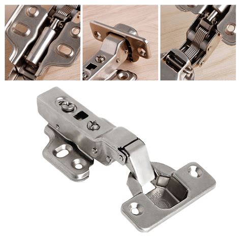 kitchen cabinet soft hinges 35mm soft overlay kitchen cabinet cupboard hydraulic door hinge cups ebay