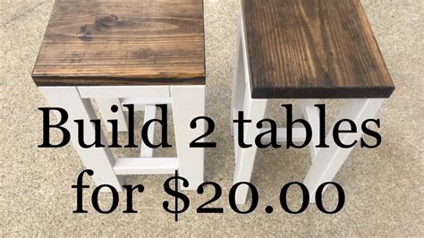 diy     tables   living room