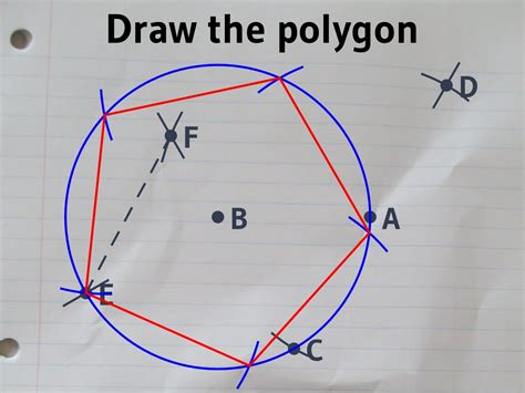 how to construct a pentagon constructing a regular pentagon with a ruler and compass
