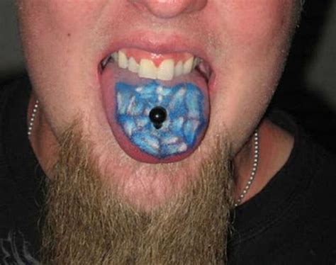 tattoo funny tattoos on the tongue