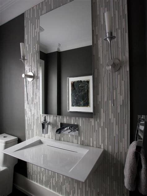 modern powder room ideas modern gray powder room design ideas remodels photos