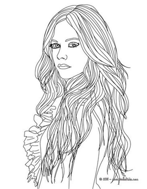 unique fashion coloring book for adults books avril lavigne fashion designer coloring pages hellokids