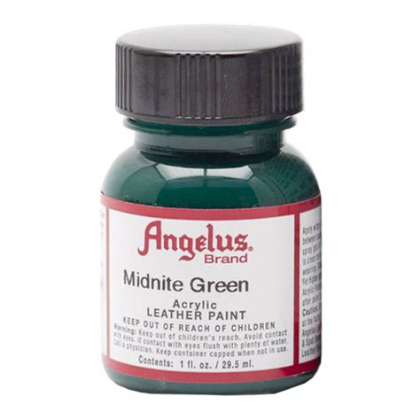 angelus paint green buy angelus leather paint 1 oz midnight green