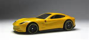 F12 Yellow Car Lamley Look 2014 Wheels F12