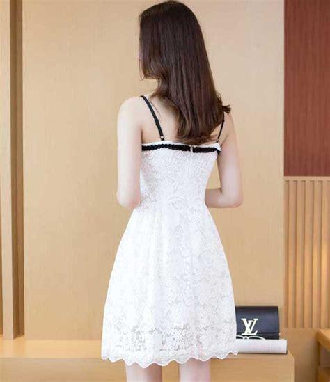 Dress Import Pesta dress pesta putih import terbaru 2017 myrosefashion