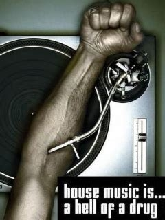 where can i download house music for free house music is hell of a drug wallpaper