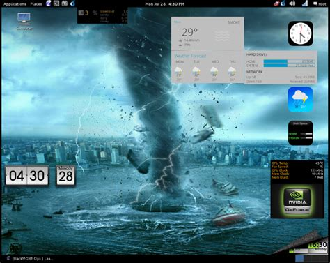 conky manager themes kali linux blackmore ops conky manager on debian and kali linux