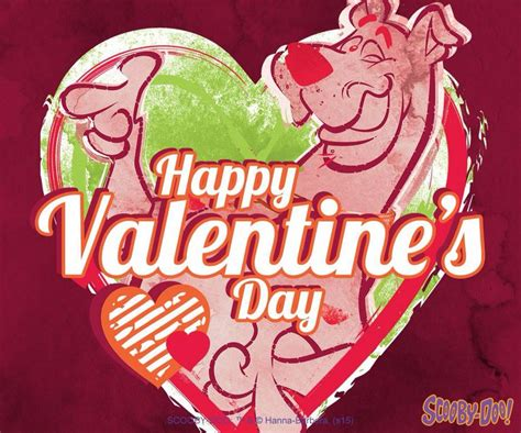 scooby doo valentines day happy valentines day from scooby scooby doo