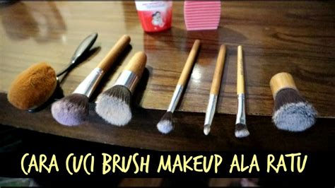 Kuas Makeup Murah cara cuci brush makeup kuas make up ala ratu mudah