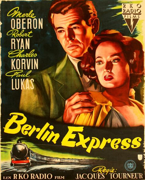 berlin express hist 243 rias de cinema 187 tourneur berlin express