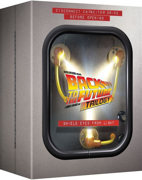 back to the future flux capacitor dvd back to the future flux capacitor boxset zavvi