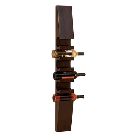modern wine rack wall mount aspire home accents contemporary wall mounted wine rack