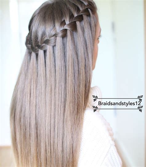 best way to braid hair for a sew in best 25 waterfall braids ideas on pinterest waterfall