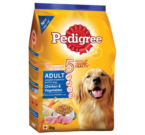pedigree food pedigree food chicken vegetables 3 kg dogspot pet supply store