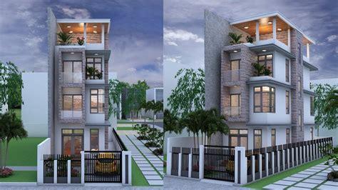 narrow house designs narrow house 4 stories house plan design sketchup lumoin