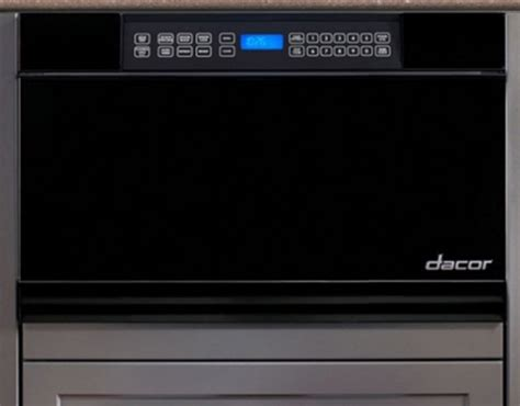 Dacor 24 Microwave Drawer by Mmd24b Dacor Discovery 24 Quot Microwave In A Drawer Black Glass